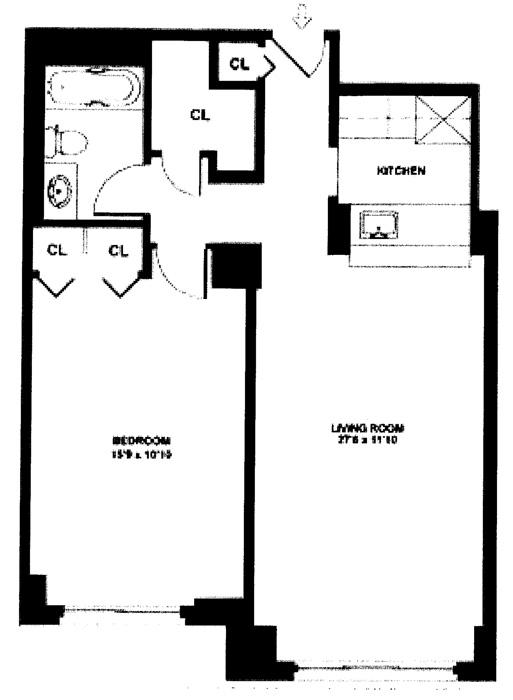 5 East 22nd Street, Flatiron/Gramercy Park, NYC, $634,000, Web #: 1000629
