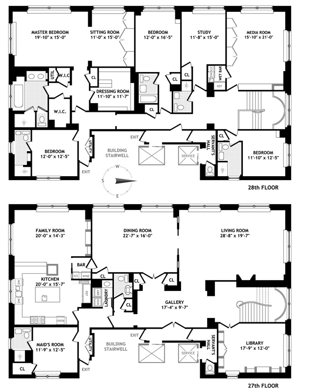 515 Park Avenue, Upper East Side, NYC, $23,980,000, Web #: 1006157
