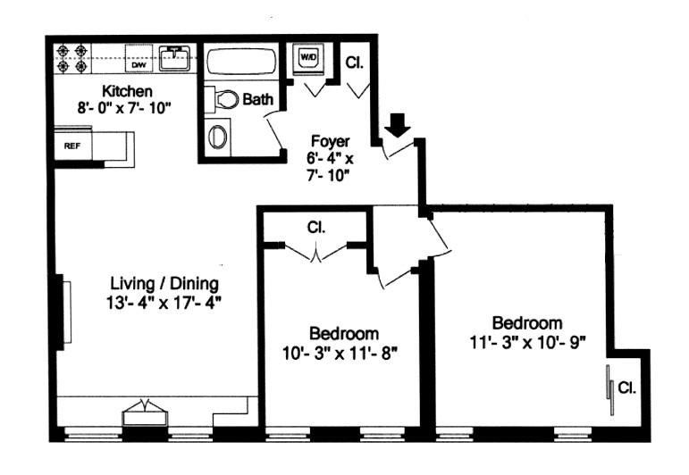 426 13th Street, Brooklyn, New York, $570,000, Web #: 1010942