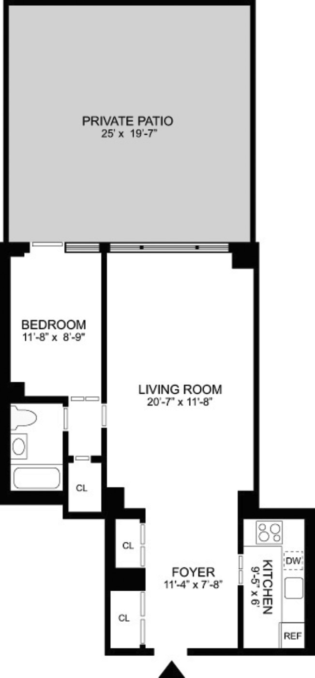 420 East 72nd Street 1D, Upper East Side, NYC, $430,000, Web #: 1012332