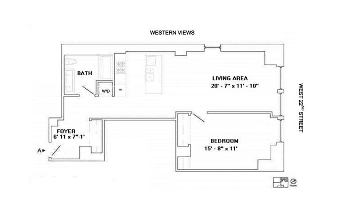 140 West 22nd Street, Greenwich Village/Chelsea, NYC, $1,375,000, Web #: 10134744