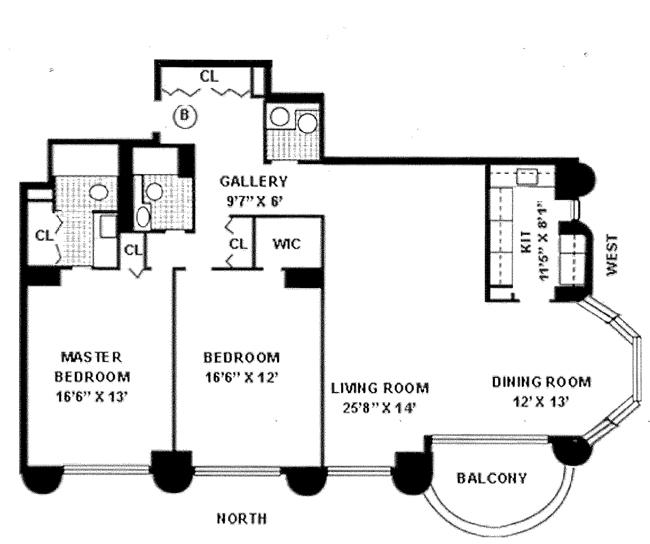 44 West 62nd Street, Upper West Side, NYC, $1,356,000, Web #: 1015754
