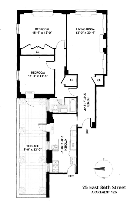 25 East 86th Street, Upper East Side, NYC, $1,715,000, Web #: 1021446