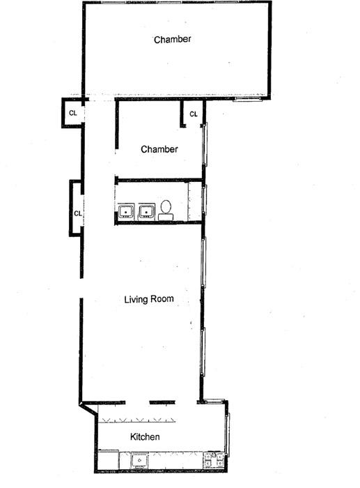 126 West 11th Street, Greenwich Village/Chelsea, NYC, $1,300,000, Web #: 1023292