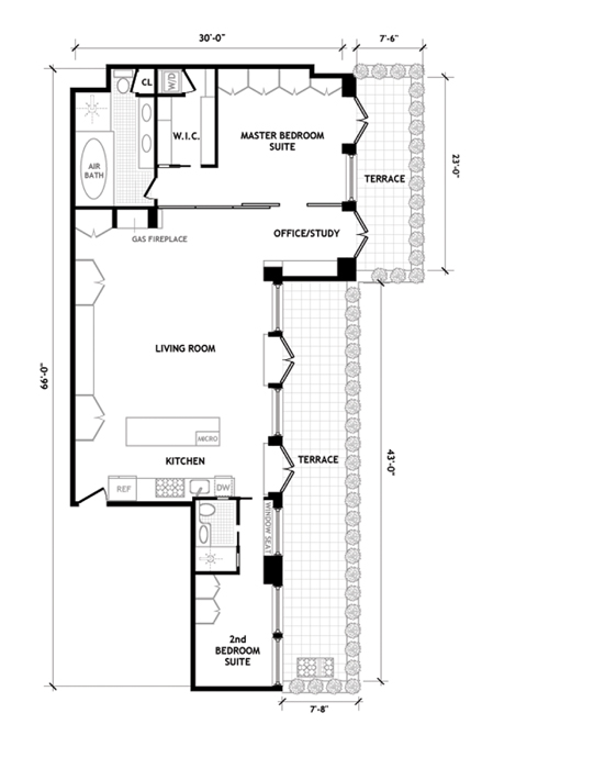 315 West 36th Street, Midtown West, NYC, $1,510,000, Web #: 1030112