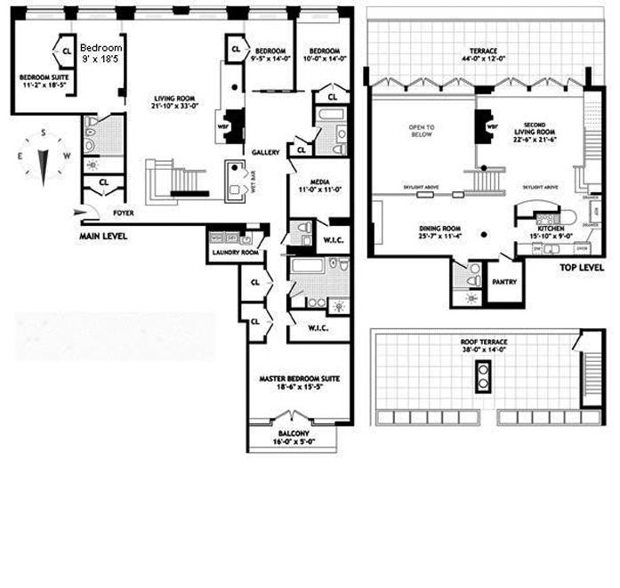 129 West 20th Street, Greenwich Village/Chelsea, NYC, $7,500,000, Web #: 10313333