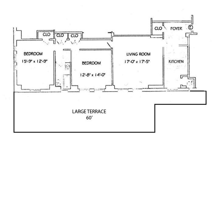 240 West 98th Street, Upper West Side, NYC, $6,000, Web #: 10317363