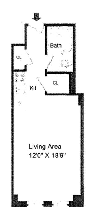 310 Riverside Drive, Upper West Side, NYC, $270,000, Web #: 1044417