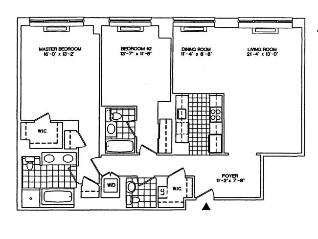 308 East 72nd Street, Upper East Side, NYC, $1,500,000, Web #: 1052684
