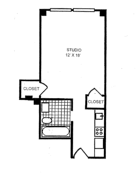 433 West 34th Street, Midtown South, NYC, $240,000, Web #: 1053317