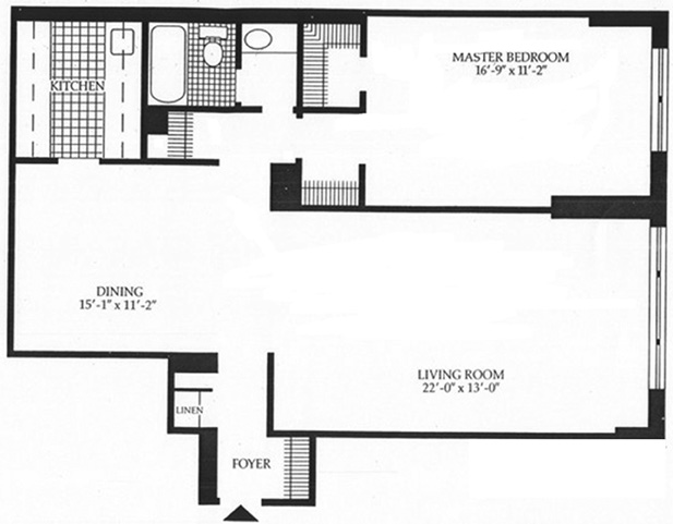 60 East 8th Street, East Village, NYC, $799,000, Web #: 1064730