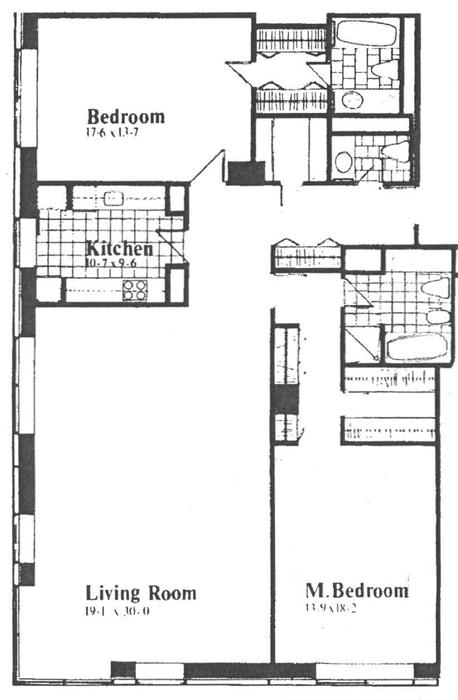 15 West 53rd Street, Midtown West, NYC, $2,800,000, Web #: 1073123