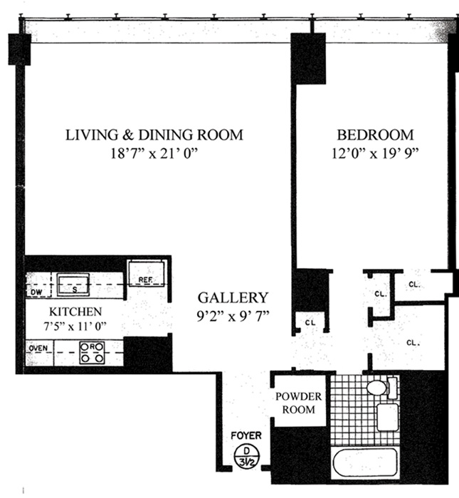 870 United Nations Plaza, Midtown East, NYC, $750,000, Web #: 1080094