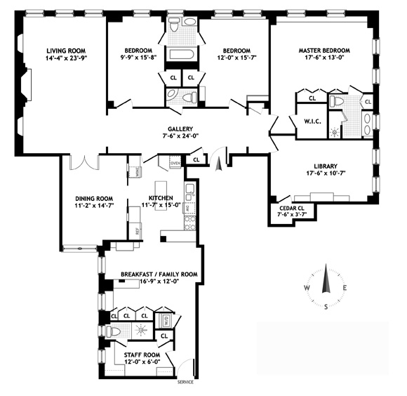 1192 Park Avenue, Upper East Side, NYC, $4,235,000, Web #: 1086547