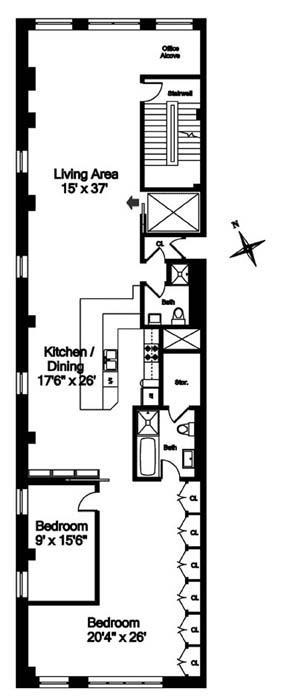24 East 22nd Street, Flatiron/Gramercy Park, NYC, $2,243,700, Web #: 1092359