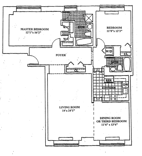 120 East 87th Street, Upper East Side, NYC, $2,300,000, Web #: 1094203