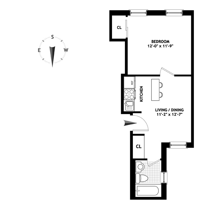 26 Gramercy Park South, East Village, NYC, $575,000, Web #: 10955103