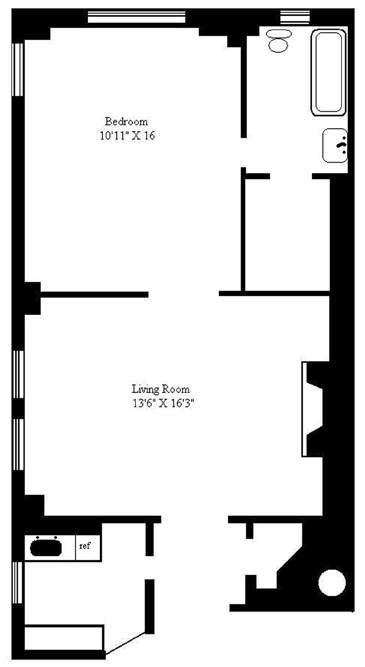 7 East 85th Street, Upper East Side, NYC, $495,000, Web #: 1100606