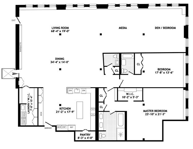 285 Lafayette Street, Greenwich Village/NOHO/Little Italy, NYC, $6,200,000, Web #: 1100908