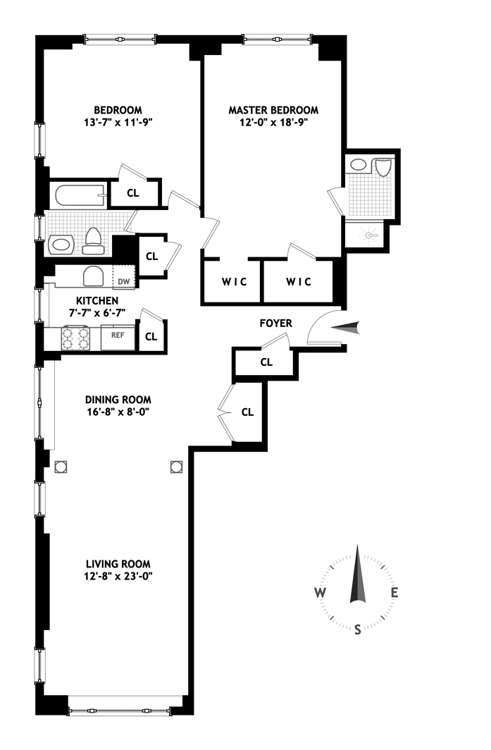 50 Sutton Place South, Midtown East, NYC, $1,095,000, Web #: 11014604