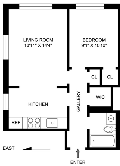 38 Gramercy Park, Flatiron/Gramercy Park, NYC, $513,875, Web #: 1108672