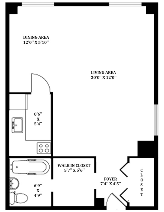 200 East 27th Street, Murray Hill/Kips Bay, NYC, $400,000, Web #: 1109947