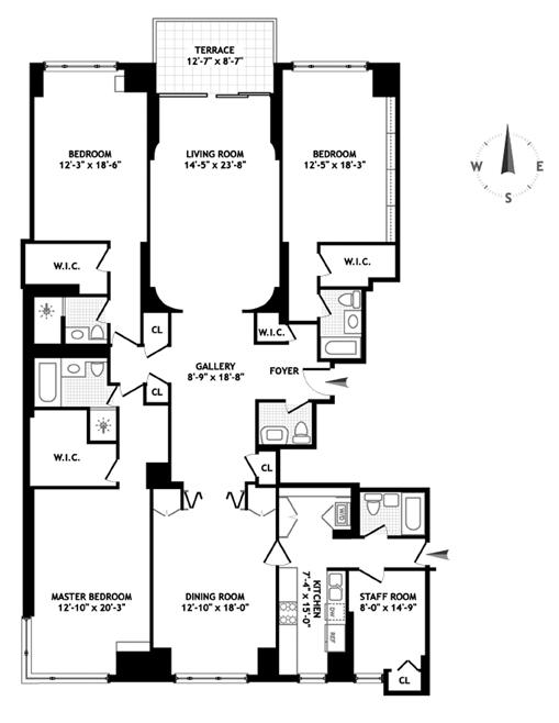 425 East 58th Street, Midtown East, NYC, $2,575,000, Web #: 1115157