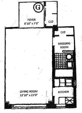 30 East 37th Street, Midtown East, NYC, $445,000, Web #: 1118429