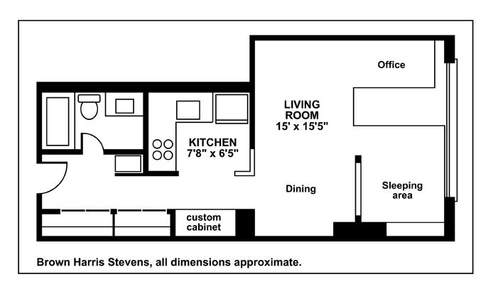 222 West 14th Street, Greenwich Village/Chelsea, NYC, $740,000, Web #: 11204567
