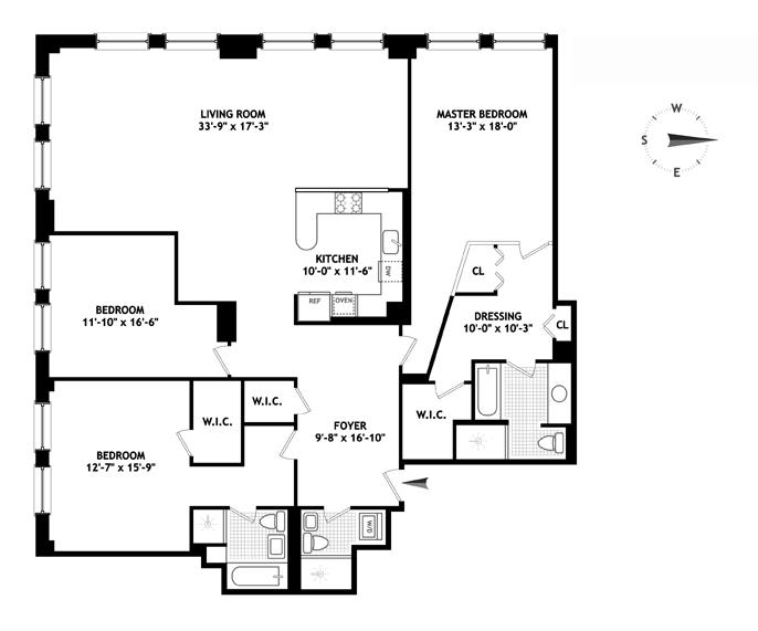245 Seventh Avenue, Chelsea, NYC, $3,900,000, Web #: 11243858