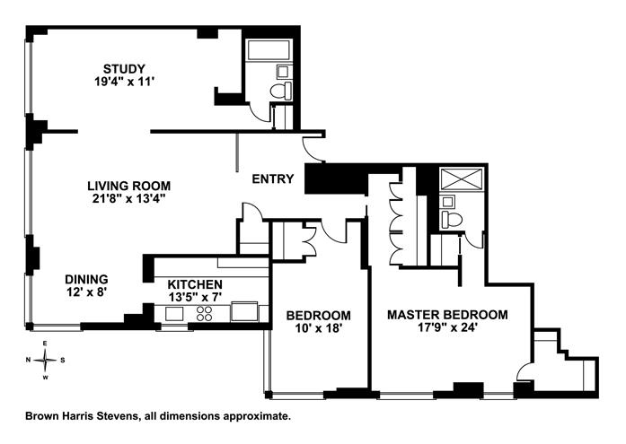 20 East 9th Street, East Village, NYC, $3,875,000, Web #: 11255251