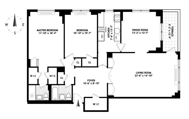 50 Sutton Place South, Midtown East, NYC, $1,425,000, Web #: 11314860