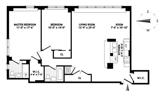 239 East 79th Street, Upper East Side, NYC, $999,000, Web #: 1131664