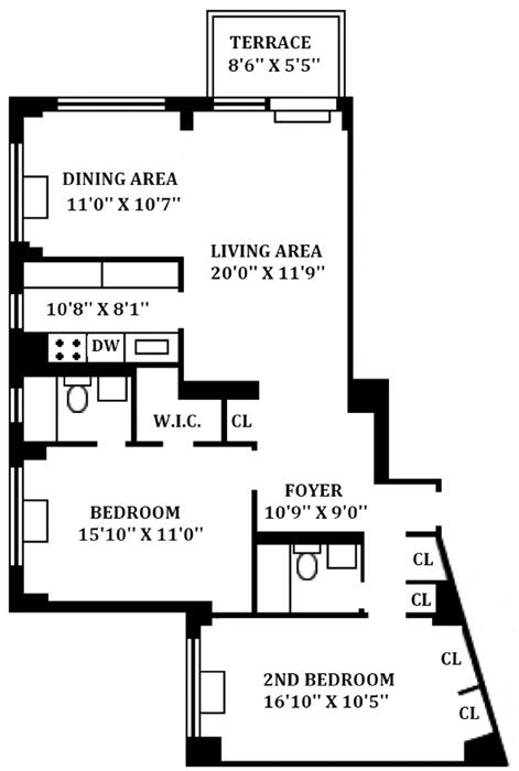 5 East 22nd Street, Flatiron/Gramercy Park, NYC, $1,350,000, Web #: 1133408