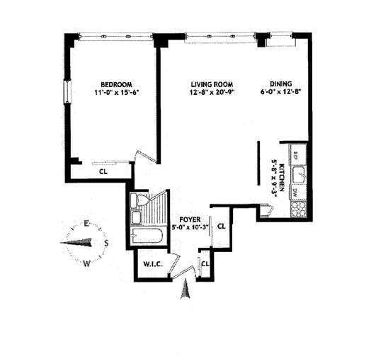 32 Gramercy Park South, East Village, NYC, $980,000, Web #: 11392955