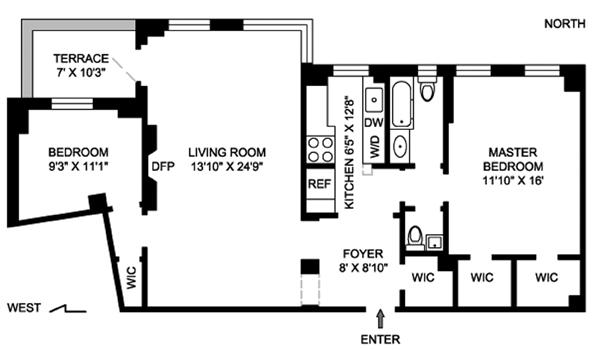 5 Riverside Drive, Upper West Side, NYC, $975,000, Web #: 1139977
