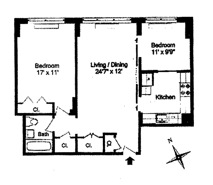 10 West 15th Street, Greenwich Village/Chelsea, NYC, $875,000, Web #: 11467421