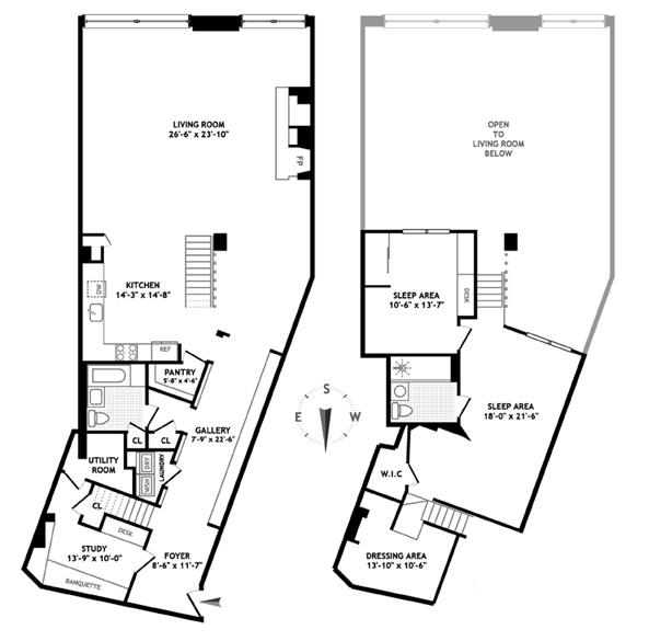 377 West 11th Street, West Village, NYC, $2,328,000, Web #: 1155668