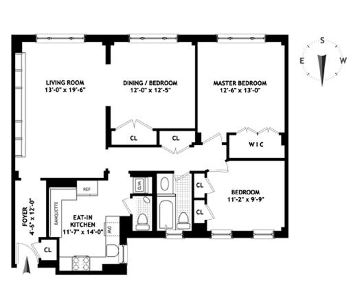 252 West 85th Street, Upper West Side, NYC, $1,582,000, Web #: 11583987