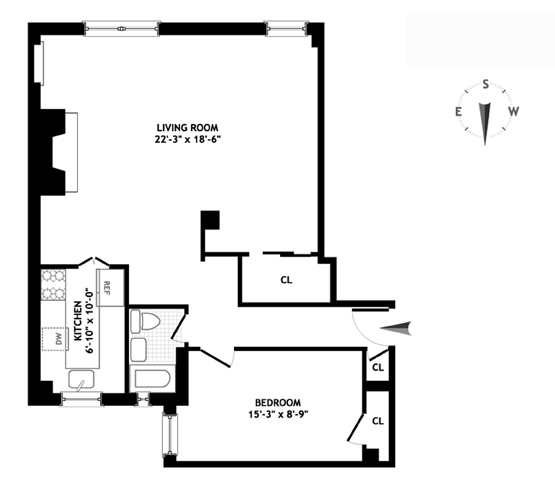10 Mitchell Place, Midtown East, NYC, $425,000, Web #: 1161553
