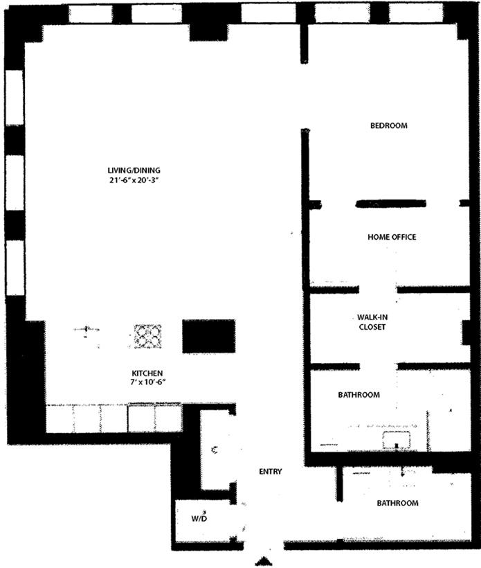 West 25th Street, Greenwich Village/Chelsea, NYC, $6,400, Web #: 11653658
