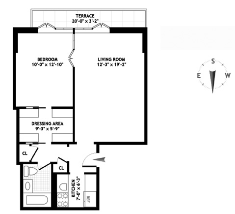 48 Gramercy Park North, Flatiron/Gramercy Park, NYC, $1,300,000, Web #: 1165663