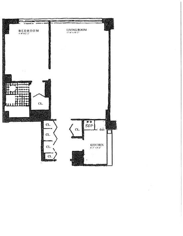 7 East 14th Street, East Village, NYC, $850,000, Web #: 11659052