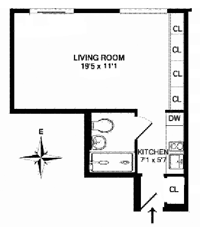 22 Irving Place, East Village, NYC, $436,000, Web #: 11672083
