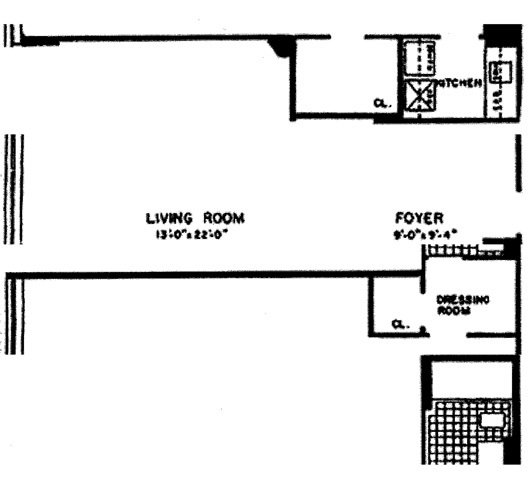 166 East 63rd Street, Upper East Side, NYC, $650,000, Web #: 11699463