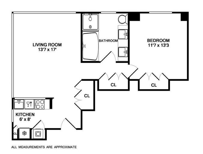 18 West 48th Street, Midtown West, NYC, $1,475,000, Web #: 11803084