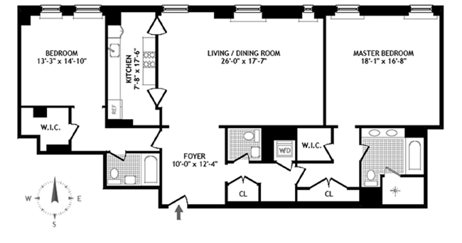 Central Park South, Midtown East, NYC, $19,000, Web #: 11826033
