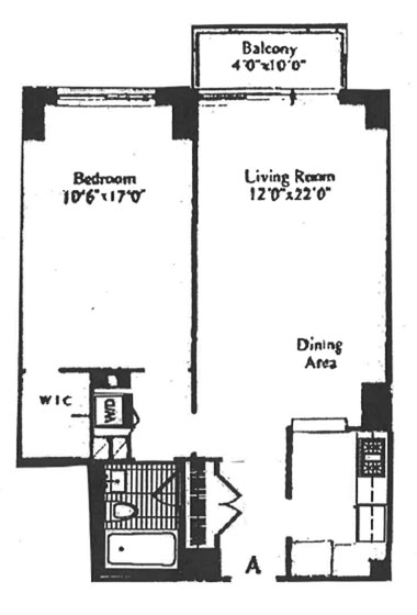 East 72nd Street, Upper East Side, NYC, $3,700, Web #: 11881296
