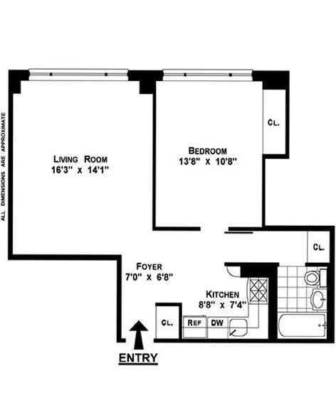 130 West 67th Street, Upper West Side, NYC, $670,000, Web #: 11913220