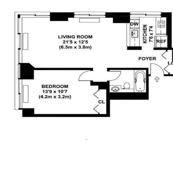 300 East 85th Street, Upper East Side, NYC, $820,000, Web #: 11943997